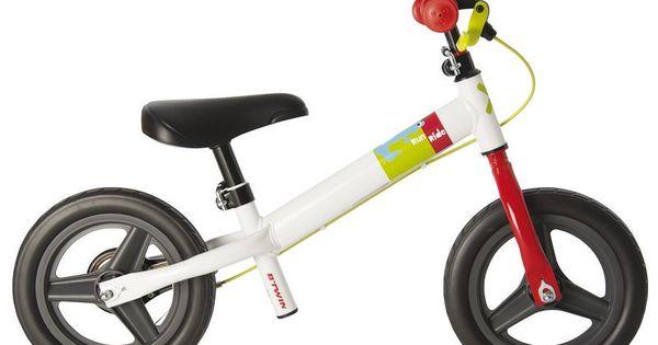 draisienne enfant 10 pouces run ride 100 blanche b 39 twin. Black Bedroom Furniture Sets. Home Design Ideas