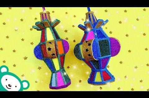 شكل جديد وحصري لفانوس رمضان 2019 بالفوم الجليتر Diy Room Decor Ramadan Decorations Youtube Christmas Ornaments Holiday Decor Decor