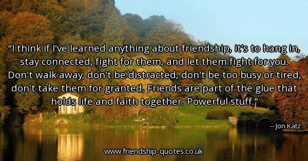 Image result for jon katz quotes friendship