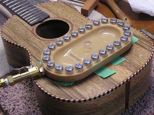 Vacuum Bridge Clamp Luthier Tools Guitar Making Tools Tools