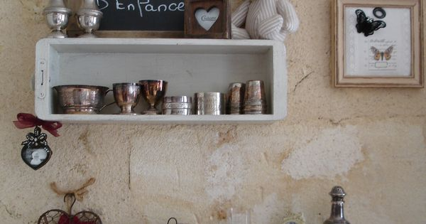 Anciens tiroirs de machine coudre patin s ficelle for Meubles patines