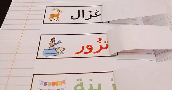 كلمات بها حرف الزاي الممدود Zai Arabic Alphabet Letters Lettering Alphabet Arabic Alphabet