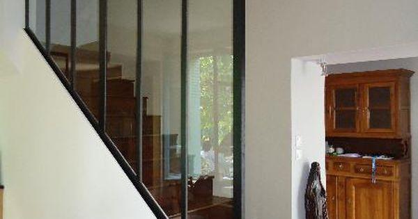 fabricant cr ation d 39 une verri re de cuisine ainsi qu 39 un chassi vitr pour la mont e d 39 escalier. Black Bedroom Furniture Sets. Home Design Ideas