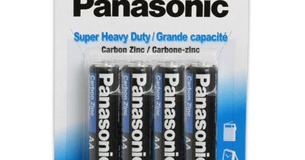 1 Piece Of Panasonic Super Heavy Duty Aa Batteries 4pack Click Image For More Details Note Amazon Affiliate Link Gadgets Home Gadgets Aa Batteries