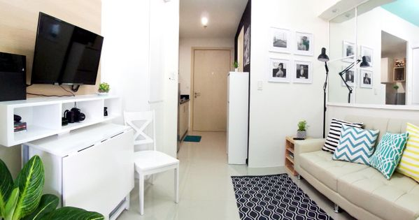 kitchen design studio type light and airy 23 sqm condo unit what else 509