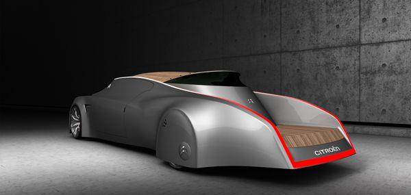 Curious Looking Citroen Designer Changwoo Shim Concept Cars Citroen Concept Citroen