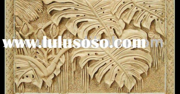 Natural Wood Sculpture Free Wood Relief Carving Patterns
