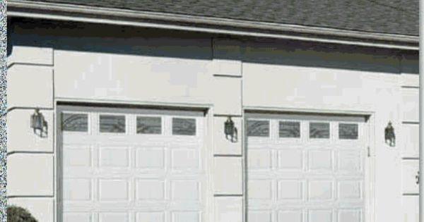 Vertical Long Panel Design Garage Door Design Garage Doors Gable Roof Design