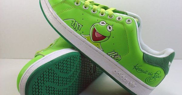 Adidas Kermit The Frog Shoes