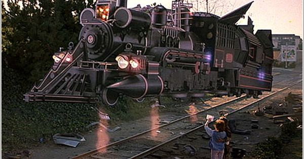 Back To The Future 31 Back To The Future Time Travel Train