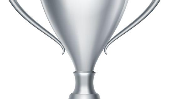 Silver Trophy Cup Award Transparent Png Clip Art Image