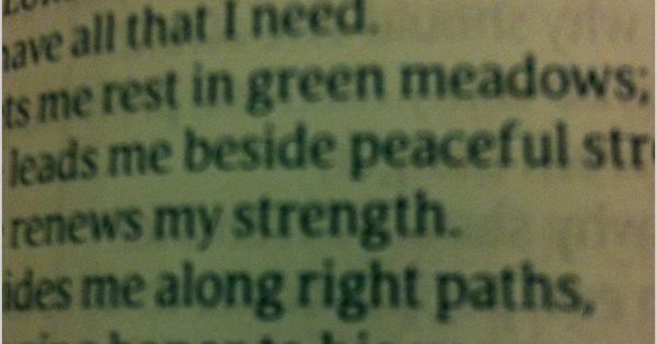23rd psalm love it the lord is my shepherd pinterest psalms