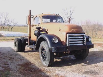 Antique Gmc Tractors : Gmc diesel trucks for sale old