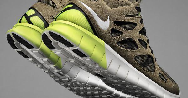 Nike Free Run 2 Mid SneakerBoot (Detailed Photos) | See more about Nike Free Runs, Free Runs and Nike Free.