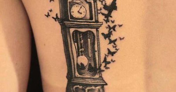 #cooltattoos womenstattoos tattooideasforwomen inkedgirls girlstattoos tattooideasforgirls nicetattoos Tattoo Ideas, Time Fly, Awesome