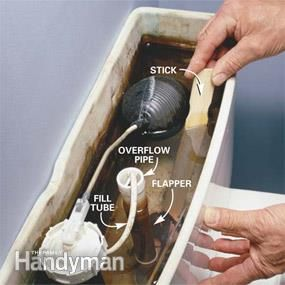 How To Fix A Running Toilet Handyman Projects Toilet Repair