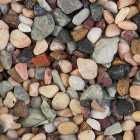 Akasha 5 Lb River Rocks Lowes Com Landscaping With Rocks River Rock Landscaping Lowes Landscaping