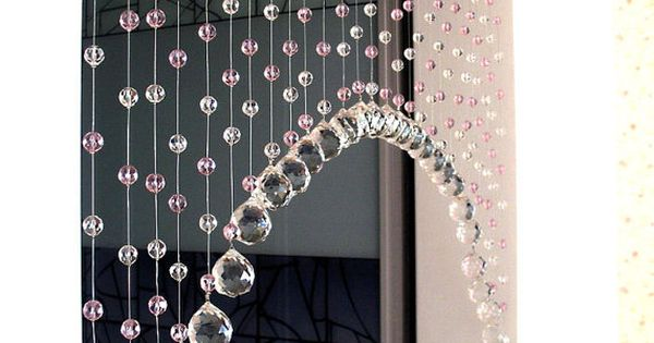crystal beaded curtainglass beads curtain home decor by. Black Bedroom Furniture Sets. Home Design Ideas
