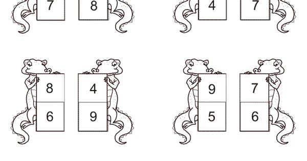 common core math kindergarten comparing numbers more less t e a c h m e pinterest. Black Bedroom Furniture Sets. Home Design Ideas