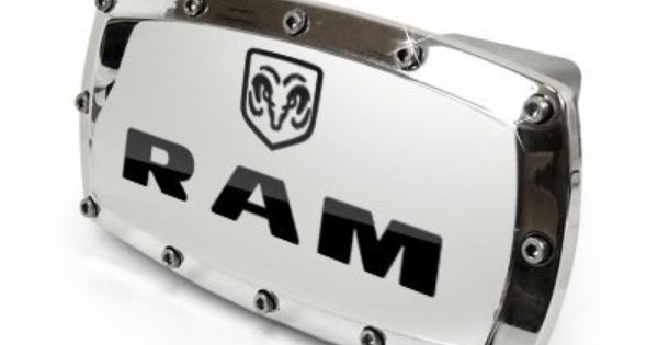 Dodge Ram Engraved Billet Aluminum Tow Hitch Cover Official