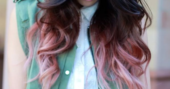 Pastel Pink Tips