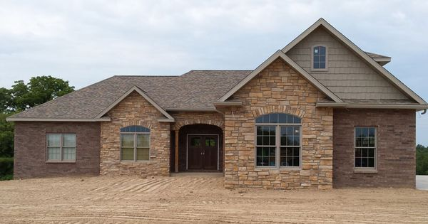 Classic Brick Ranch House Plan With Full Basement The