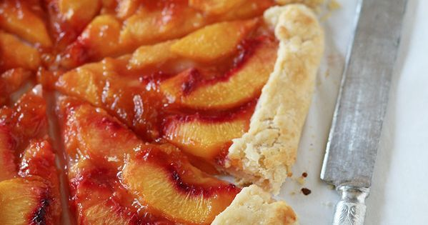 Free-Form Peach Crostata Recipes — Dishmaps