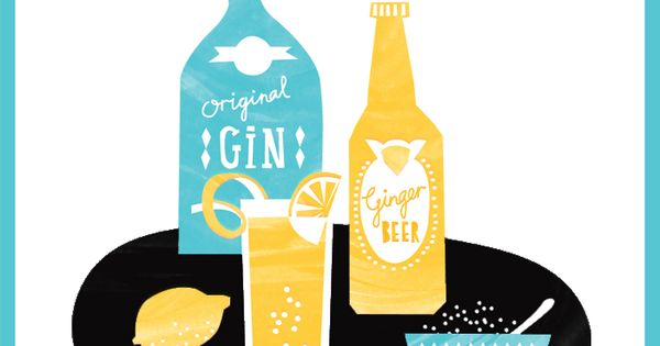 Gin + Ginger Beer celebratecolorfully join us on a happy hour trip