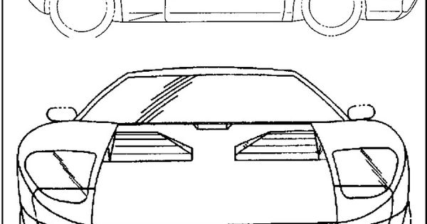ford mustang gt90 coloring page