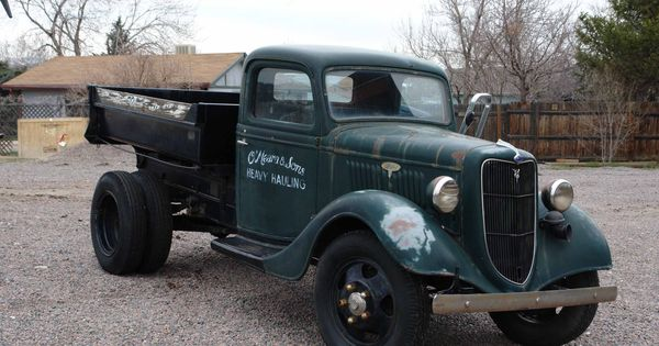 O Meara Ford >> vintage trucks | Brian O'Meara's truck – a 1935 vintage Ford two-ton dump truck | things I like ...