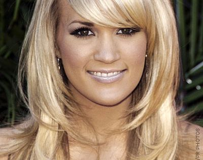 hair cut styles for women | Carrie Underwood Long Thick Layered Haircut
