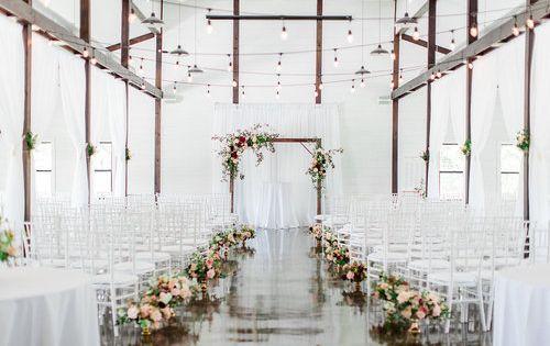 Dream Point Ranch Wedding Decor Ideas White Barn Wedding Venue Ranch Wedding Decor Wedding Venues Indoor