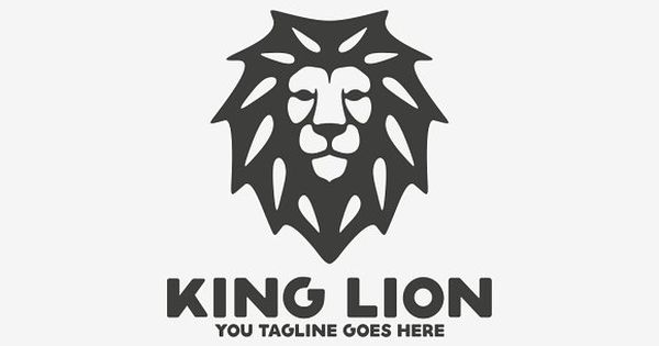 King Lion by Brandlogo on @creativemarket