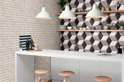 Hexa Cube 3d Tiles Interior Design Inspiration 3d Wall Decor