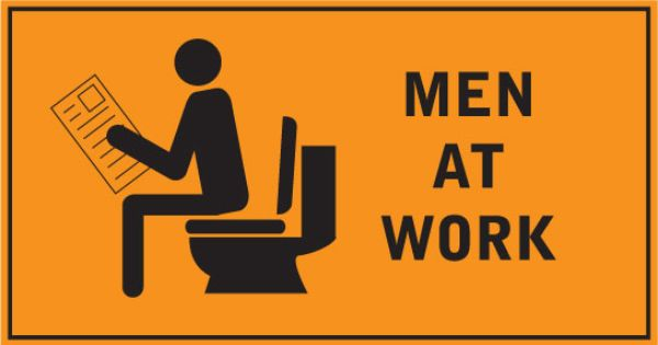 funny employment signs | Funny Sign: Men At Work | funny ...