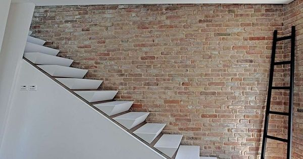 design detail wedge shaped stairs contemporist