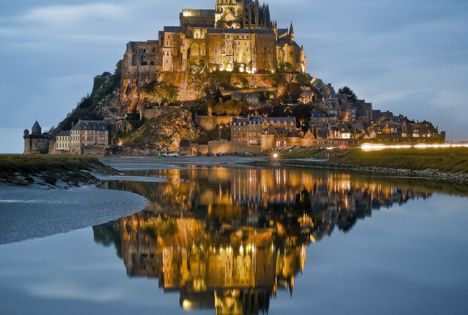 Mont Saint Michel. I'd like to go on a tour of that