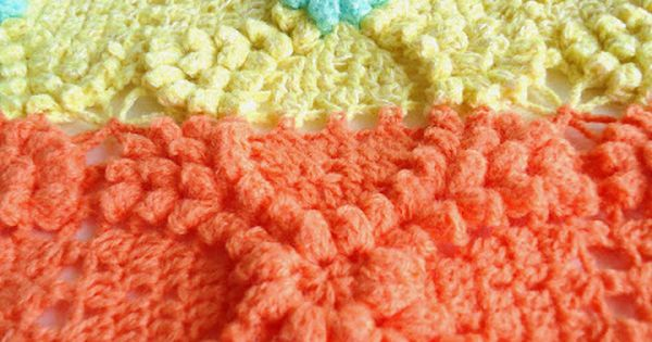 MemeRose: Vintage popcorn pattern.... | Free Crochet Patterns ...