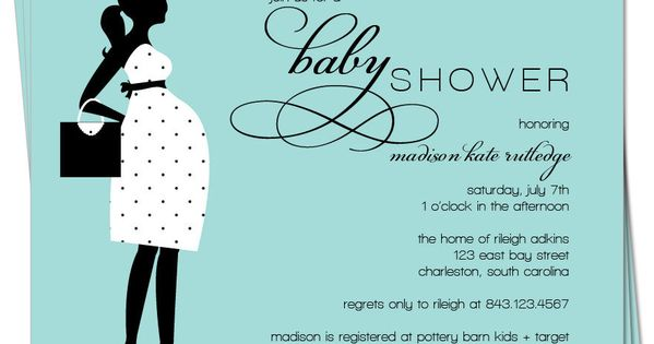 chic pregnant silhouette - Google Search | Baby shower ...