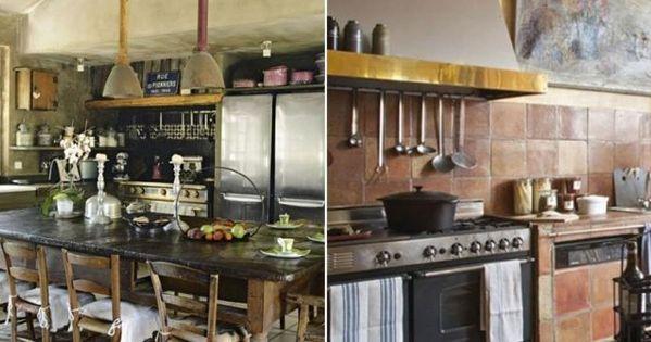 Cocinas De Estilo R Stico Cocinas R Sticas Pinterest