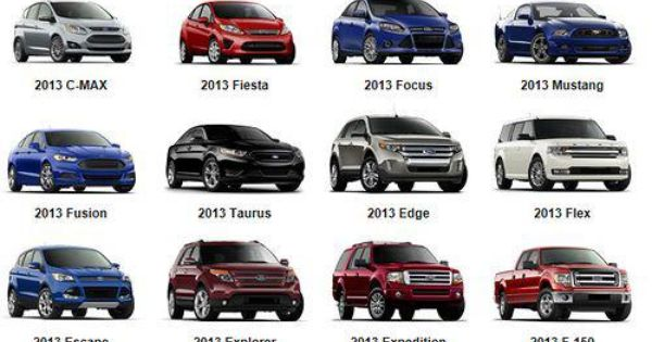 2013 Ford Line Up Which Is Your Favorite Ford Cars Suv Truck