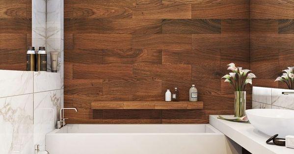 kleines-badezimmer-fliesen-ideen-kleine-holz-optik-grosse-marmor ...