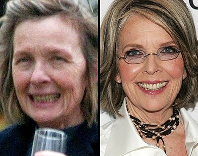 Celebrity With No Makeup Diane Keaton Without Makeup