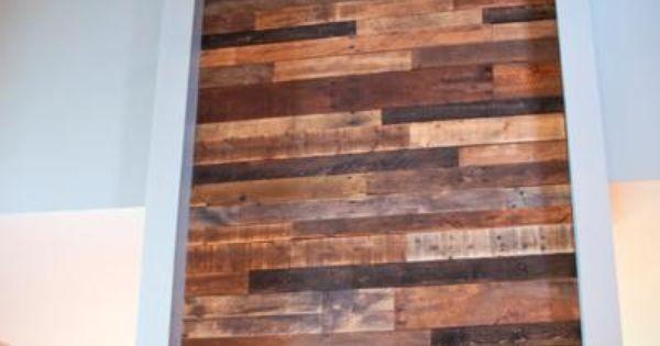 Comment faire un mur en bois de palette murs de bois et comment - Faire un mur en bois ...
