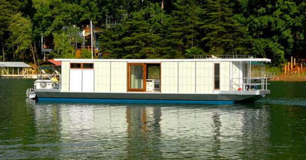 Metroship House Boat By Ballinger Co Architecture House