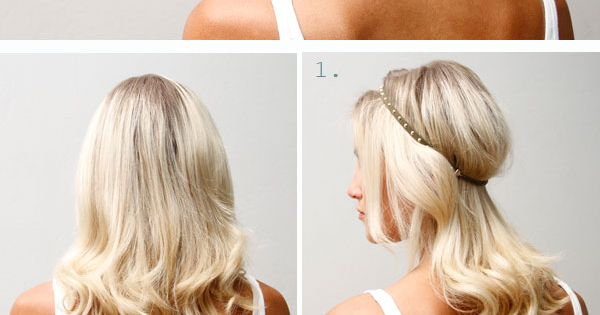 DIY | Twist Headband Updo Tutorial Love hair color