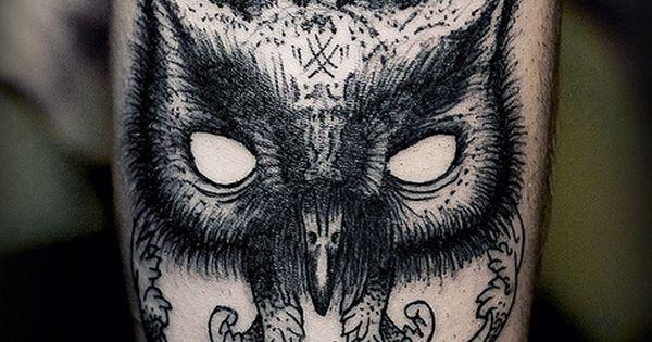 Owl Mask Tattoo Ideas - Tattoo Shortlist