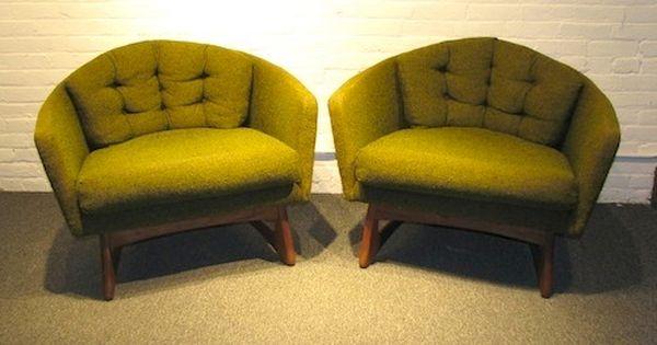Adrian Pearsall Tweed Tub Chair 895 Tub Chair Chair Mid Century Modern Furniture