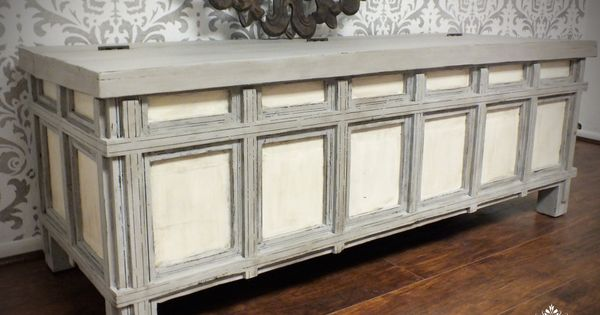 Annie Sloan Antique Beach Chalk Paint Chunky Coffee Table Cost Plus Eclectic Entry