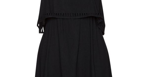 black Hurley dress